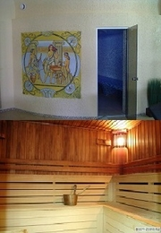 Восточная паровая баня и финская сауна